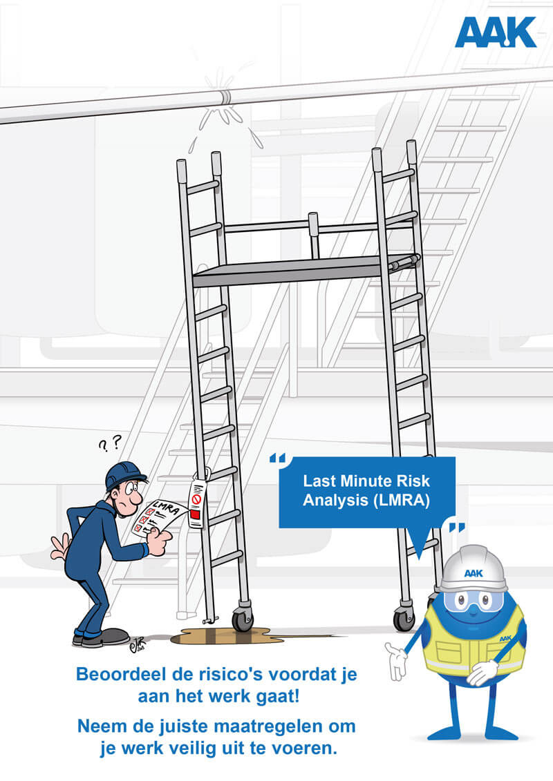 AAK Safety cartoons