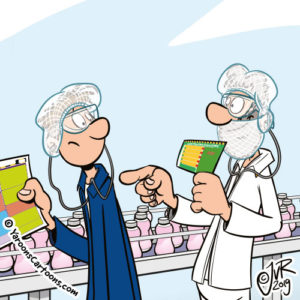 Cartoon 9 Rules of Safety - Nutricia Zoetermeer